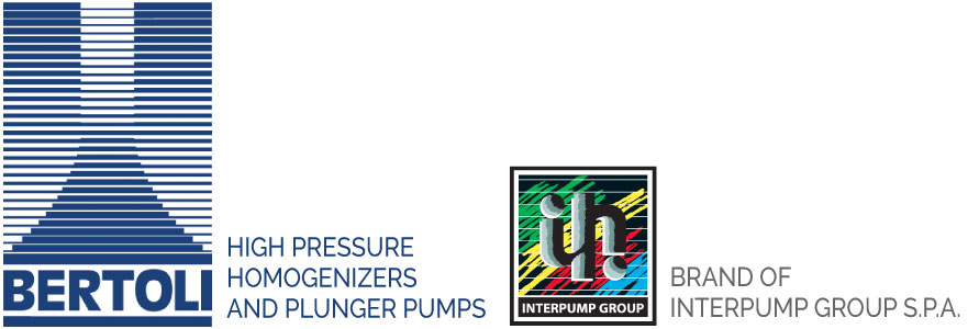 Industrial homogenizers and piston pumps